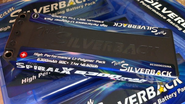 Team Silverback Spiral X LiPO 6300mAh 7.4v 2s 90C